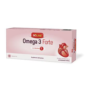 Omega 3 forte 60 cps BIOLAND