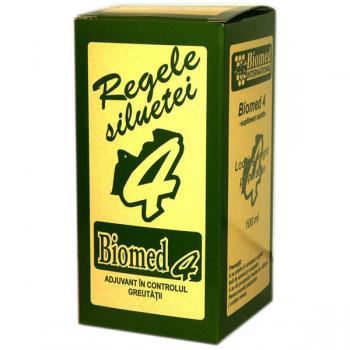 Biomed 4 pentru controlul greutatii 100 ml BIOMED