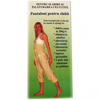 Biomed slip, pantaloni pentru slabit, marimea l 65-75 kg 1 gr BIOMED