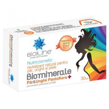 Biominerale pentru par & unghii pantokera+ 30 cpr BIO SUN LINE