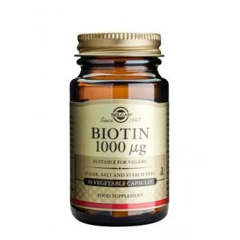 Biotin 1000 mcg 50 cps SOLGAR
