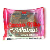 Biscuite organic cu nuci si cacao