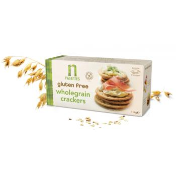 Biscuiti crackers din ovaz integral 114 gr UNICORN NATURALS