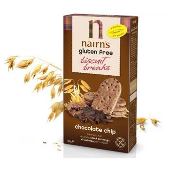 Biscuiti din ovaz cu ciocolata 160 gr UNICORN NATURALS