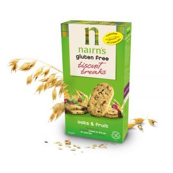 Biscuiti din ovaz cu fructe 160 gr UNICORN NATURALS