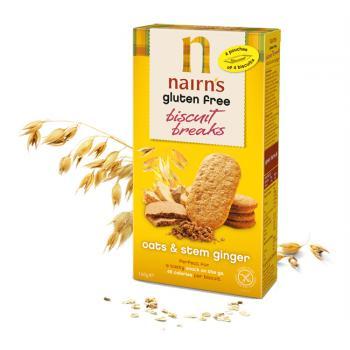 Biscuiti din ovaz cu ghimbir 160 gr UNICORN NATURALS