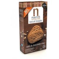 Biscuiti nairn s oatcakes fara gluten din ovaz integral cu ciocolata