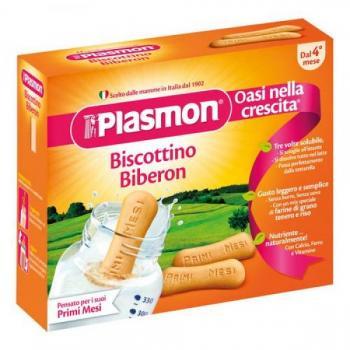 Biscuiti pt biberon forma piscot+4luni  320 gr PLASMON