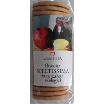 Biscuiti speltissima fara zahar 200 gr LONGEVITA