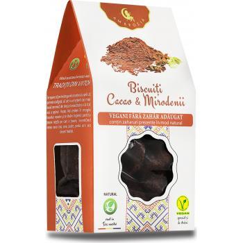 Biscuiti vegani cu mirodenii si cacao 150 gr AMBROZIA