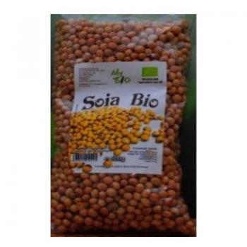 Boabe de soia bio 500 gr MY BIO