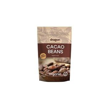 Boabe intregi de cacao 200 tbl DRAGON SUPERFOODS