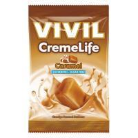Bomboane creme life cu caramel, fara zahar