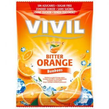 Bomboane cu portocale amare si vitamina c 80 gr VIVIL