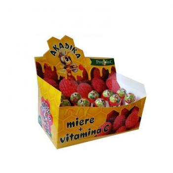 Bomboane cu propolis, miere si vitamina c akadika 15 gr FITERMAN