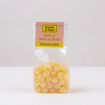 Bomboane - perle cu miere si lamaie 100 gr SUCRERIES DE FRANCE