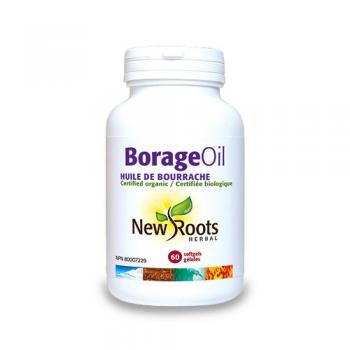 Borage oil pur – 1000 mg  60 cps NEW ROOTS