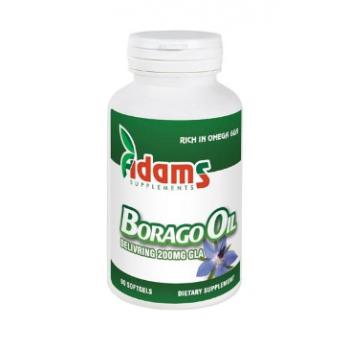 Borago oil 1000mg  90 cps ADAMS SUPPLEMENTS