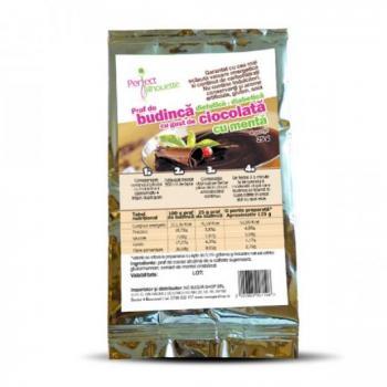 Budinca cu cacao&menta si faina konjac  50 gr BETTER THAN FOODS