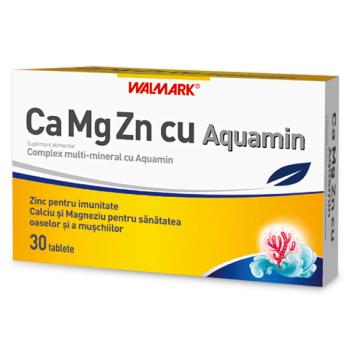 Ca-mg-zn cu aquamin 30 tbl WALMARK