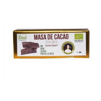 Cacao liquor -masa de cacao raw bio 250 gr OBIO