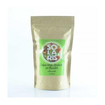Cafea verde arabica cu ghimbir, macinata  260 gr SOLARIS