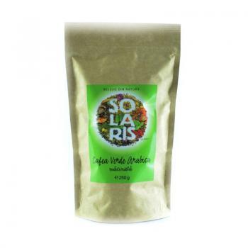 Cafea verde arabica macinata 250 gr SOLARIS