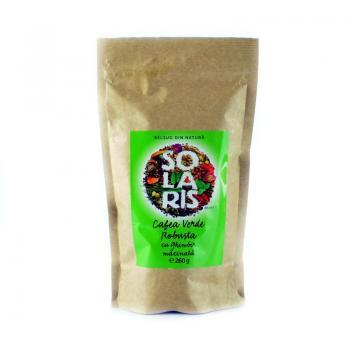 Cafea verde robusta cu ghimbir 260 gr SOLARIS