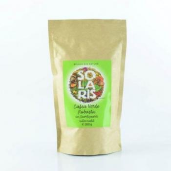 Cafea verde robusta macinata cu scortisoara  260 gr SOLARIS