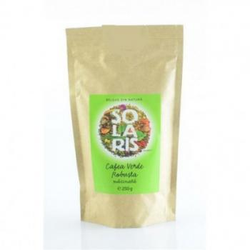 Cafea verde robusta, macinata 250 gr SOLARIS