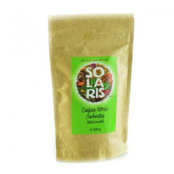 Cafea verde robusta 100 gr SOLARIS