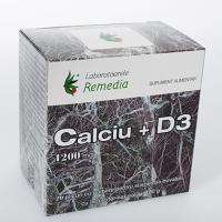 Calciu 1200mg + d3