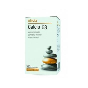 Calciu d3 (formula citrat) 30 cpr ALEVIA