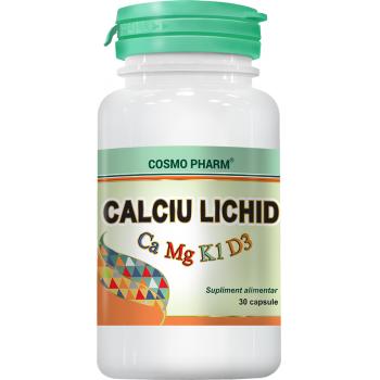 Calciu lichid 30 cps COSMOPHARM