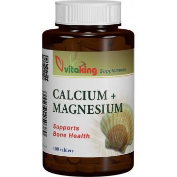 Calciu-magneziu 500/250 100 cpr VITAKING
