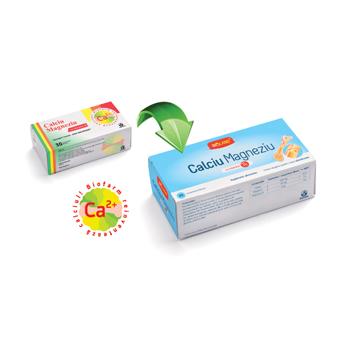 Calciu, magneziu cu vitamina d3 30 cpr BIOFARM