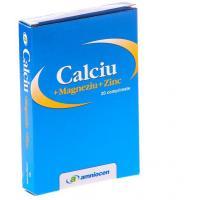 Calciu + magneziu + zinc