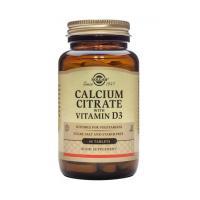 Calcium citrate cu vitamina d3