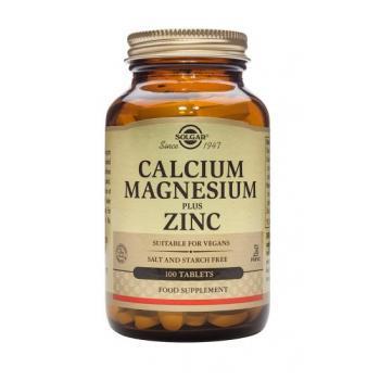 Calcium magnesium plus zinc 100 tbl SOLGAR