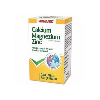 Calcium-magnezium-zinc 30 tbl WALMARK