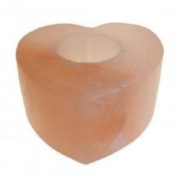 Candela din cristale de sare inima 1 gr MONTE