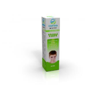 Capsio raceala & gripa 20 ml CAPSIO