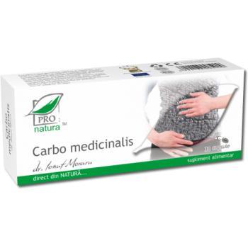 Carbo medicinalis 30 cps PRO NATURA