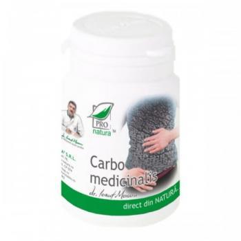 Carbo medicinalis 60 cps PRO NATURA