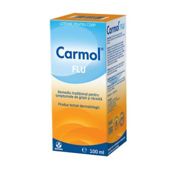 Carmol flu-lotiune de frectie 100 ml BIOFARM