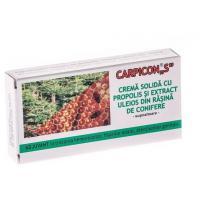 Carpicon s, crema solida(supozitoare) 1g-cutie
