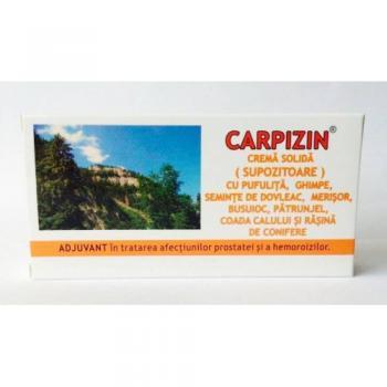 Carpizin, crema solida 1.5g-supozitoare 10 gr CARPICON
