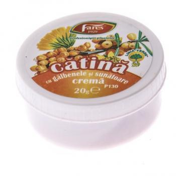 Crema de catina cu galbenele si sunatoare p130 20 ml FARES