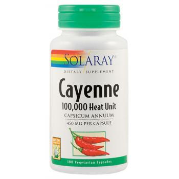Cayenne ( ardei iute) 100 cps SOLARAY