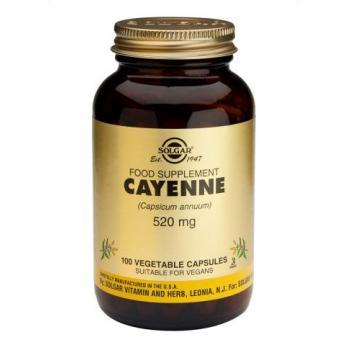 Cayenne 520 mg 100 cps SOLGAR